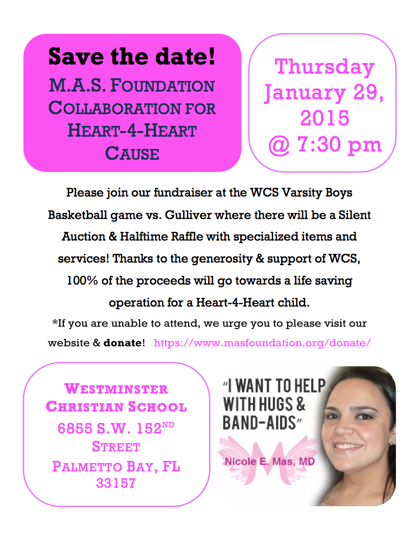 WCS Heart-4-Heart Event